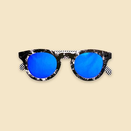 Papershades - Moonshade - Blue Lenses