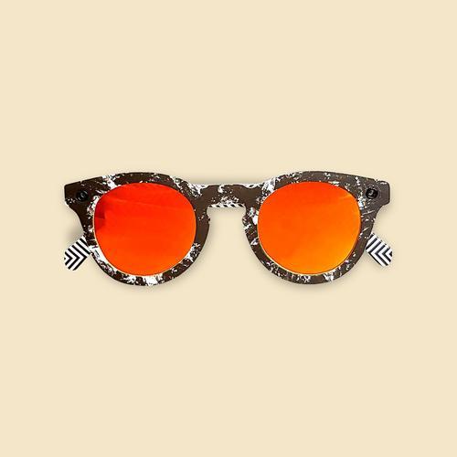 Papershades - Moonshade - Orange Lenses